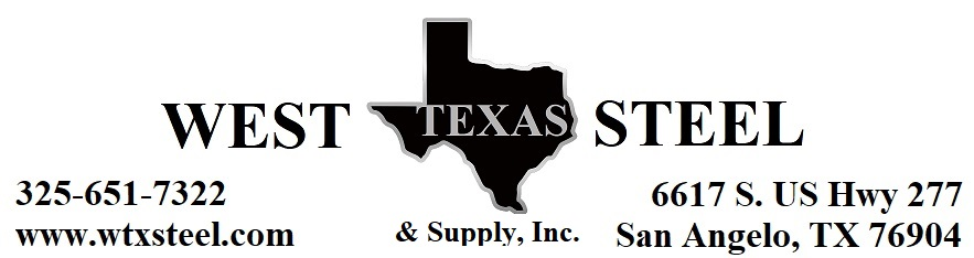West Texas Steel & Supply, Inc. Serving West Texas with Steel Building Materials and Supplies Since 1983.
